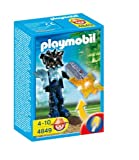 Playmobil Temple with Guard Orange Light Weapon
