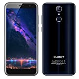 4G Smartphone in offerta-Cubot X18 Unlocked(2017),Proporzione18:9 Schermo HD da 5.7 pollici,Android 7.0 Telefonia Mobile,Fotocamera Doppia 13MP + 16MP,scheda quad core 3GB RAM 32GB ROM,3200mAh