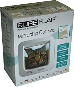 SureFlap Mikrochip Katzenklappe DE, einen Artikel