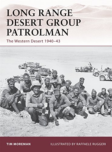 Long Range Desert Group Patrolman: The Western Desert 1940-43 (Warrior, Band 148) (20th Special Forces Group)