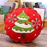 Bambola Coppa peluche 1PC Albero di Natale cuscino Babbo Natale Elk torta di sospensione della decorazione del partito portachiavi regalo di Natale for i bambini Ragazze ( Color : Christmas Tree )