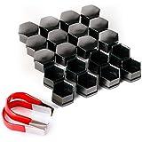 20x capuchon noir 19mm protection pour ecrou vis boulon roue vw. Black Bedroom Furniture Sets. Home Design Ideas