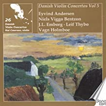 Danish Violin Concertos Vol 5
