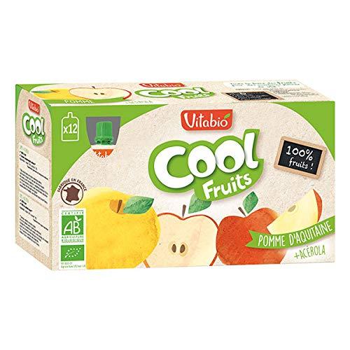 Vitabio - Cool Fruits Apfel Acerola - Kürbisse Von Frucht- 1080g - Lot von 3 - Preis pro Los - Schnelle Lieferung