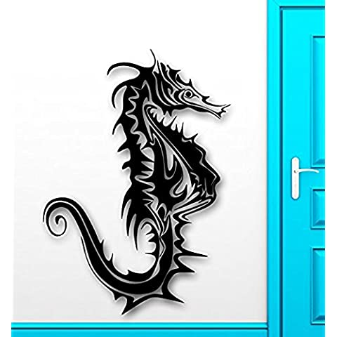 GGWW Wall Sticker Vinyl Decal Seahorse Ocean Sea Marine Room Decor (Ig2064)