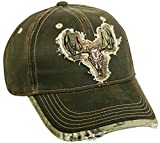 Verwitterte Baumwolle Realtree Xtra® Camo Deer Skull Patch Gap