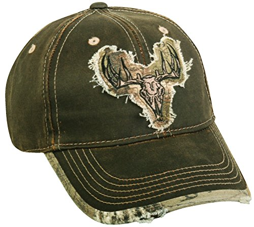 Verwitterte Baumwolle Realtree Xtra® Camo Deer Skull Patch Gap - Realtree Patch Cap