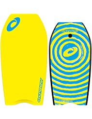 Osprey Kids/Adults Spiral Body Board with Leash, Slick Board and Crescent Tail - 37 inch