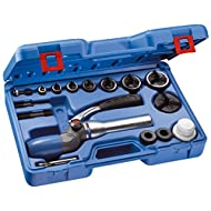 658689 FACOM DUAL-POSITION HYDRAULIC DRIVER AND ISO SIZE HOLE PUNCH SET M12-M60 PUNCHES