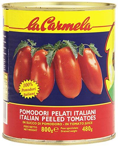 La Carmela Pelati - 12 pezzi da 800 g [9600 g]