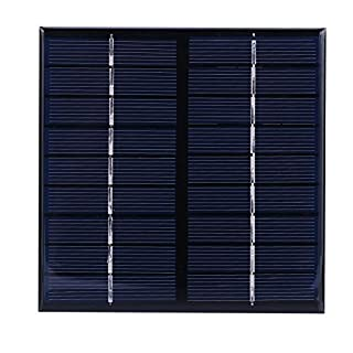amazingdeal 2W 9V, Solarpanel Epoxy polycrystalline Silikon DIY-Power-Modul