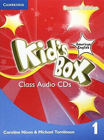 Kid's Box American English Level 1 Class Audio CDs (4)