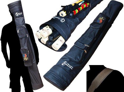 Flames N Games Pro MULTI- Stäbe Reisetasche (120cm - 160cm) Ideal für den Transport keine Stabe, Feuerstab, Leuchtstab, Devilstick, Flowersticks und andere Jongliergeräte. (160cm) (Pro Schlüssel Trainer)