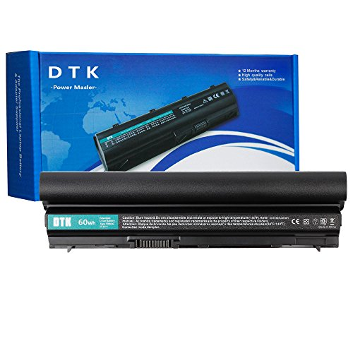 Dtk Performance Laptop Battery Replacement for Dell Latitude E6120 E6220 E6230 E6320 E6320XFR E6330 E6430S Series, 312-1241 [Li-ion 11.1V 4400mAh] 12 Months Warranty