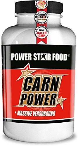 L-CARNITIN - HOCHDOSIERT & 100% REIN - Fatburner / Fettverbrenner + Vitamin B6 zur Beschleunigung deiner DIÄT & DEFINITIONSPHASE - 125g Pulver à 125 Portionen - MADE IN GERMANY