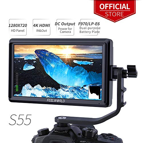Feelworld S55 5.5 Pulgadas On Camera Field Monitor