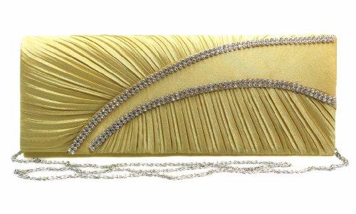 Fashion4Young, Poschette giorno donna Oro (oro)