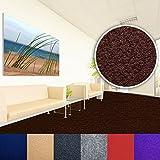 Comfort Teppichfliesen Nadelfilz | braun | selbstklebend | 1m²