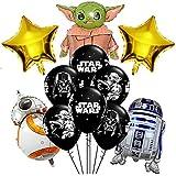 Star Wars Party Balloons, Globos De Star Wars, Suministros De Fiesta De Cumpleaños, Decoraciones Para Fiestas, Globos Star Wa