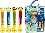 Cressi Swim Kinder Tauchstäbe Junior Dive Stick Kinder Tauchstäbe Schwimmspielzeug (4 Pcs)