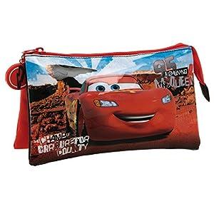 Disney Cars Neceser de Viaje, 1.32 litros, Color Rojo