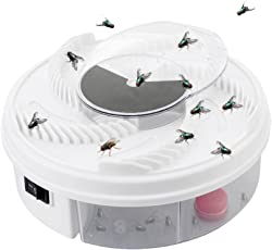 Leoie Fly Killer-Electric Fly Trap Device with Trapping Food,Bug Zapper,Insect Killer