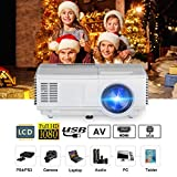 2018 Pico DLP Projector 3D Android Bluetooth, Full HD 1080p Support HDMI Wireless Projectors for IPAD Laptop DVD Blu Ray Player Xbox 360 Wii roku TV Stick ¡