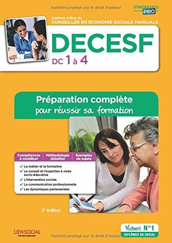 DECESF - Domaines de compétences 1 à 4 - Préparation complète pour réussir sa formation