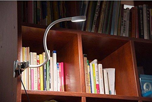 Gvoree led light on book lampada da lettura clip su lampada per