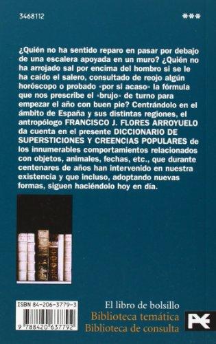 Diccionario de supersticiones y creencias populares (El Libro De Bolsillo - Bibliotecas Temáticas - Biblioteca De Consulta)