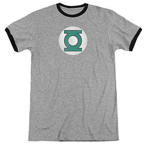 DC Comics Herren T-Shirt Heather/Black