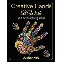 Creative Hands At Work: Fine Art Coloring Book