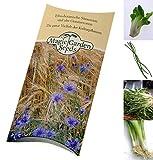 Samen Set: Asia Gemüse - 4 typische asiatische Gemüsesorten für Wok und Dampfgarer in schöner Geschenkverpackung