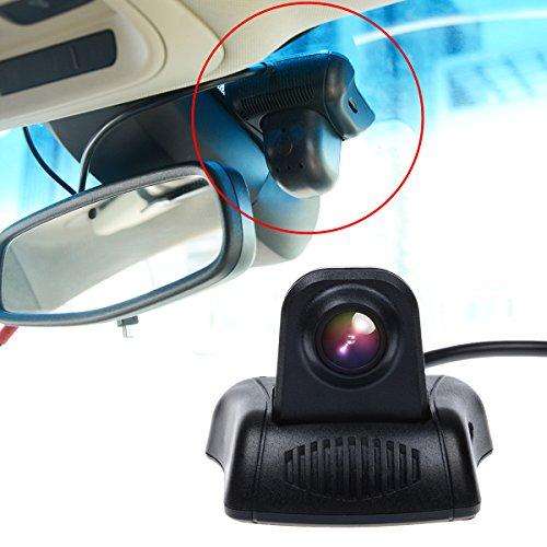 Toguard versteckte FullHD Auto Kamera DVR Dashcam Armaturenbrett Kamera, WLAN Mini Car DVR, 140° Weitwinkel, Super Kondensator mit dem Novatek 96658 Chip Fahrzeug Video Rekorder für die Windschutzscheibe