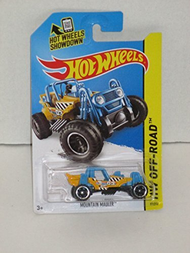 Hot Wheels, 2015 HW Off-Road, Mountain Mauler [Yellow/Blue] Die-Cast Vehicle #97/250 by Hot Wheels