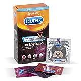 Durex Fun Explosion Kondome – Verschiedene Sorten für aufregende Vielfalt - Verhütung, die Spaß macht – 18er Pack (1 x 18 Stück) Test