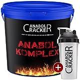 Anabol Komplex Whey Protein Shake, Vanille oder Banane 2,27Kg Eimer Eiweißpulver Glutamin Molke + Shaker