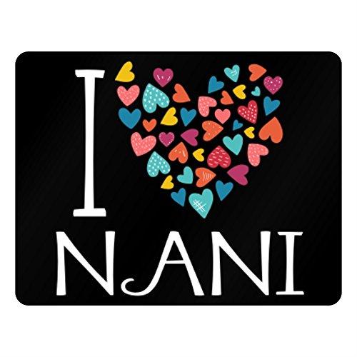 Idakoos – I love Nani colorful hearts – Female Names – Plastic Acrylic 51cvryDzLPL