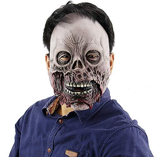 Festival Kostüm Venedig - LQ&XL Halloween Zombie Maske Geist Festival Horror Dämon Maske Scary Cosplay Bar Performances Nacht Leistungen Thema Party Erwachsene Größe