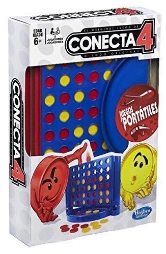 Hasbro Gaming - Juego de viaje Conecta 4 (B10001750)