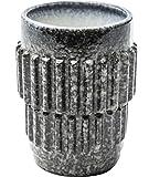 Kare Becher Cosmos, 300 ml, Durchmesser: ca. 8 cm, Höhe: ca. 10,5 cm, Material: Keramik, Kaffeetasse/Kaffeebecher in Besonderem Design, spülmaschinenfest und mikrowellengeeignet
