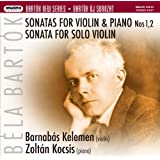 Violin Sonatas 1 & 2, Sonata for Solo Violin