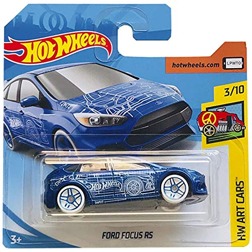 Hot Wheels Ford Focus RS HW Art Cars 276/365