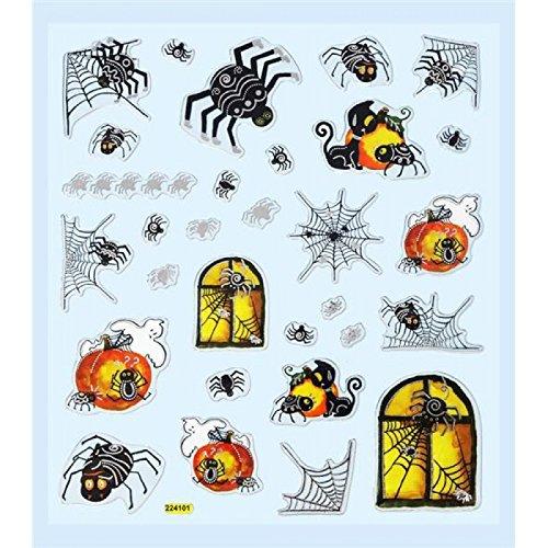 Hobby Design Sticker * Halloween I Geist Spinne * Aufkleber (Halloween Happy Aufkleber)