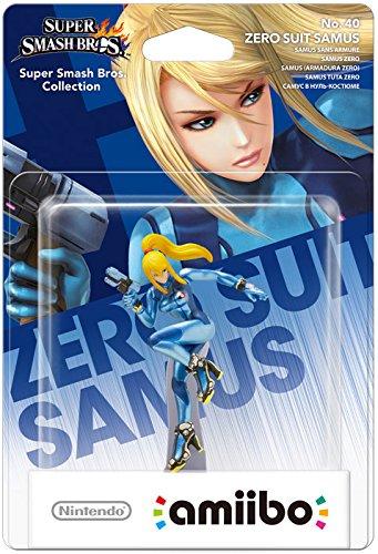 Nintendo - Figura Amiibo Smash Zero Suit Samus