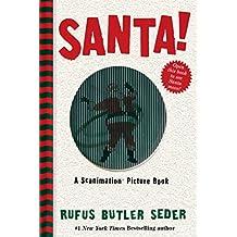 Santa! (Scanimation) by Rufus Butler Seder (1-Oct-2013) Hardcover