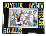 P2G - Cadre photo '30 ans' - 23 x 18 cm