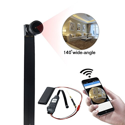 UYIKOO 8GB Mini Kamera 1080P HD Videokamera Wlan IP Recorder Kamera Home Security Nanny Cam Bewegungserkennung für iPhone / Android Remote View - Kamera-recorder Security