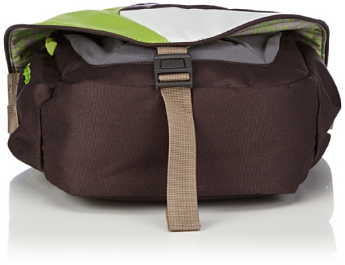 Vaude Kinder Umhängetasche Woody brown/chute green