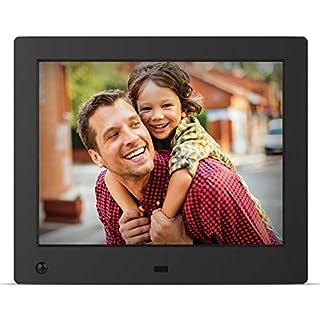 NIX Advance Digital Photo Frame 8 inch X08E. Electronic Photo Frame USB SD/SDHC. Clock & Calendar Function. Digital Picture Frame with Motion Sensor